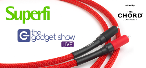 Gadget Show Live 2016, 31 March to 3 April – Superfi cabled by The Chord Company
