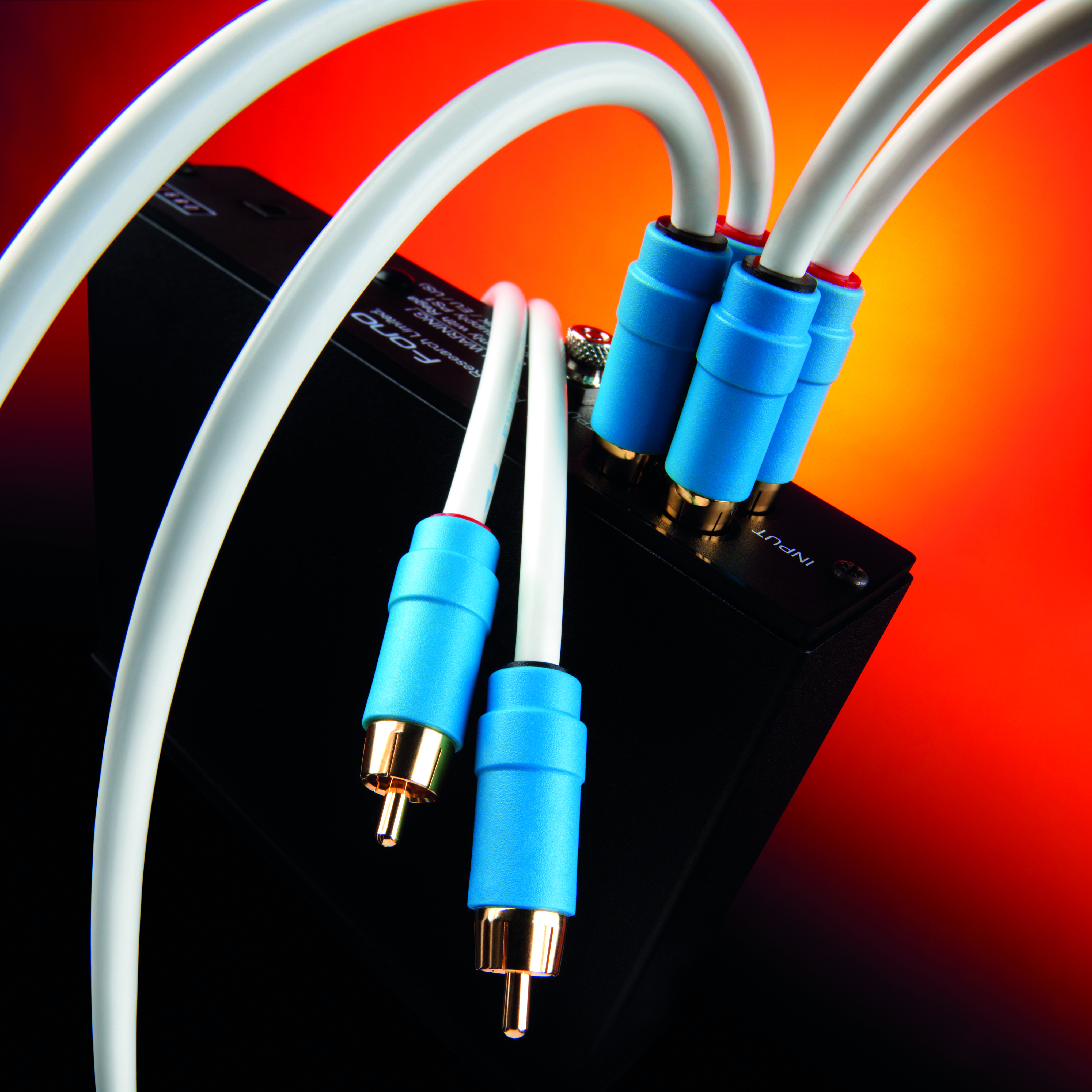 C Line Analogue Rca The Chord Company Dvd Home Theater Wiring Players Theatre Amplifiers Tuners Phono Stages And Pre To Power Amplifier Connections This Cable Can Also Be Used With Equipped