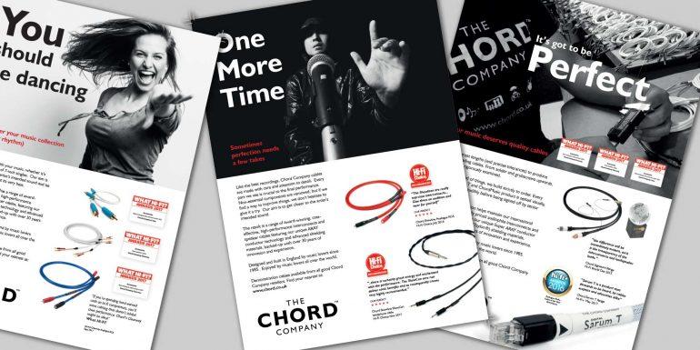 New Chord Company magazine advertisements